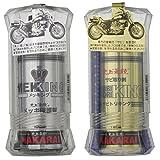 NAKARAI バイク用メッキ保護剤 錆び取り剤セット 汚れ拭きクロス付 メッキング サビトリキング バイク オートバイ 二輪 メンテナンス