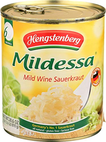 Hengstenberg, Sauerkraut Wine In Tin, 28.6 Ounce