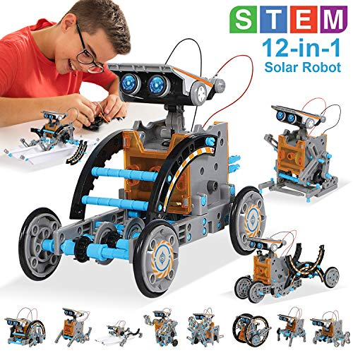 top rated Photovoltaic Robot Toy MAN NUO STEM 12-in-1 Science Educational Toy | Set for Science and Educational Work… 2020