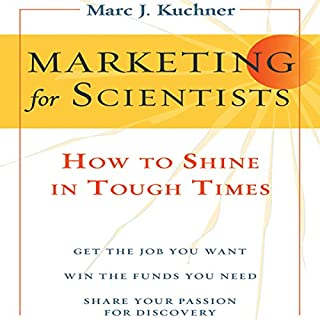 Marketing for Scientists  audiobook cover art