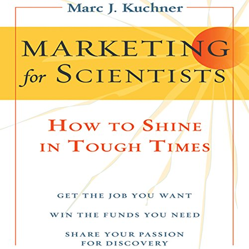 Marketing for Scientists cover art