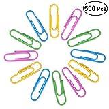 Nuolux Graffette colorate, 33 mm, 500 pezzi, con scatola...