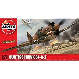 Airfix A01003 Curtis P-40B Tomahawk 172 Scale Series 1 Plastic Model Kit