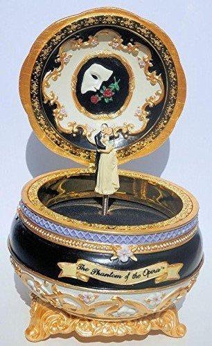 Phantom of the Opera - Phantom and Christine - Hinged Trinket Box by San Fransisco Music Box Co.