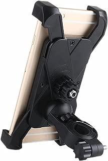 Jzenzero Universal Bike Phone Holder Bicycle Handlebar Smartphone Mount for iPhone Samsung Huawei Xiaomi Black