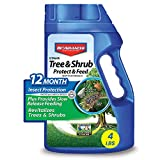 BioAdvanced 701700B 12-Month Tree and Shrub Protect and Feed Insect Killer and...
