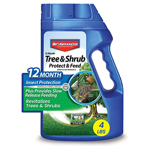 BioAdvanced 701700B 12-Month Tree and Shrub Protect and Feed Insect Killer and Fertilizer,...