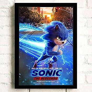 Amazon Com Sonic The Hedgehog Movie Poster Prints Wall Art Decor