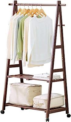 Amazon.com: Qivorcnl Solid Wood Coat Rack Creative Living ...