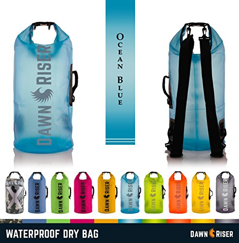Travel Rafting Tubing Boating Hunting 15L Floating Waterproof Dry Bag with Large Internal Pockets and Key Clip for Outdoors Beach Kayaking Artemis Surfing Fishing Camping Hiking