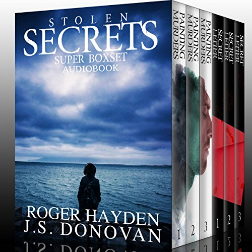 Stolen Secrets: A Collection of Riveting Mysteries audiobook cover art