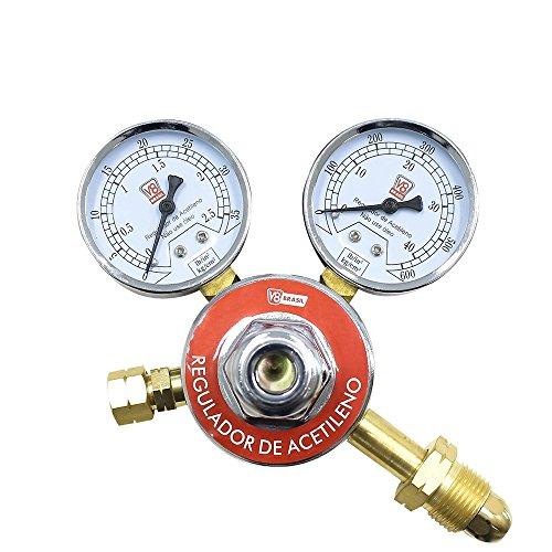 Regulador de Pressão de Acetileno, V8 Brasil 110183