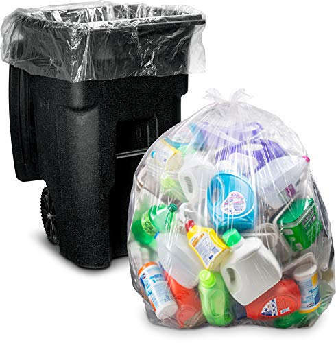 Product Image of the Veska Gallon Clear Garbage Bags