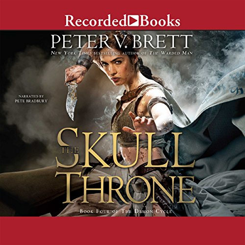 The Skull Throne audiobook cover art
