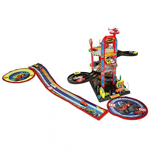Blaze & Monster Machine- Blaze and The Monster Machine Parking de 3 plantas con guarda juguetes (Saica 2172) , color/modelo surtido