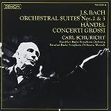 バッハ:管弦楽組曲第2番&第3番、ヘンデル:合奏協奏曲集