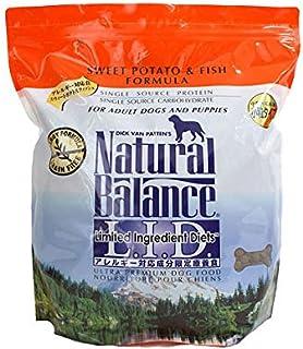 ナチュラルバランス スウィートポテト&フィッシュ 小粒 (全犬種/全年齢対応) 2.27kg