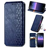XYX Wallet Case for Oppo Find X3 Pro,[Diamond Embossed][Magnet Clasp] Premium PU Leather Flip Phone Case Cover Compatible with Oppo Find X3 Pro, Blue