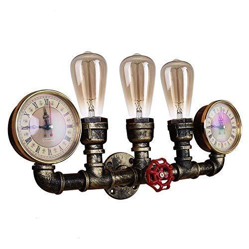 SGWH Retro Industrial wandlamp wandlamp metaal waterslang vintage lamp gemonteerd brons antiek kandelaar Steampunk voor industrie Edison E27