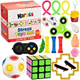 Fidget Toys Set Push Pop It Fidgets For Kids Toy Pack-Party Bags Filler Squishy Squishies Stress Packs Figet Figets...