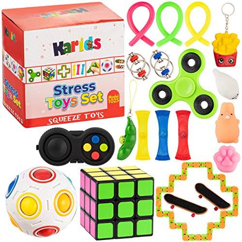 Fidget Toys Set Push Pop It Fidg...