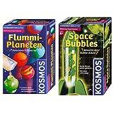 Kosmos Zauberei 657710 Flummi-Planeten, Spiel &  657338 - Experimentierset Space Bubbles