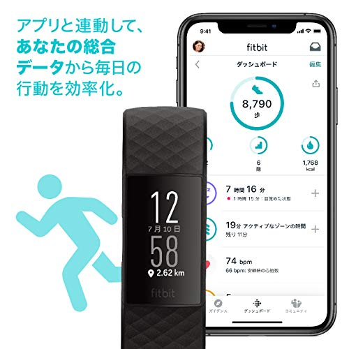 Fitbit『Charge4』