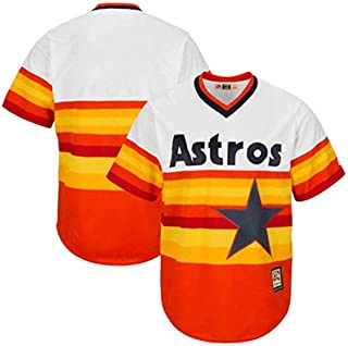 Majestic Houston Astros MLB Men's Cool Base Cooperstown Jersey White (3XT)
