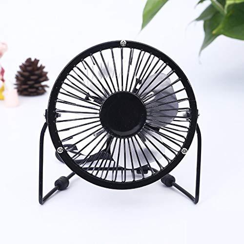 Mini-ventilator met 4 inch, draagbare miniventilator voor bergbeklimmen, reizen, smeedijzer, geluidsarme binnen/ap