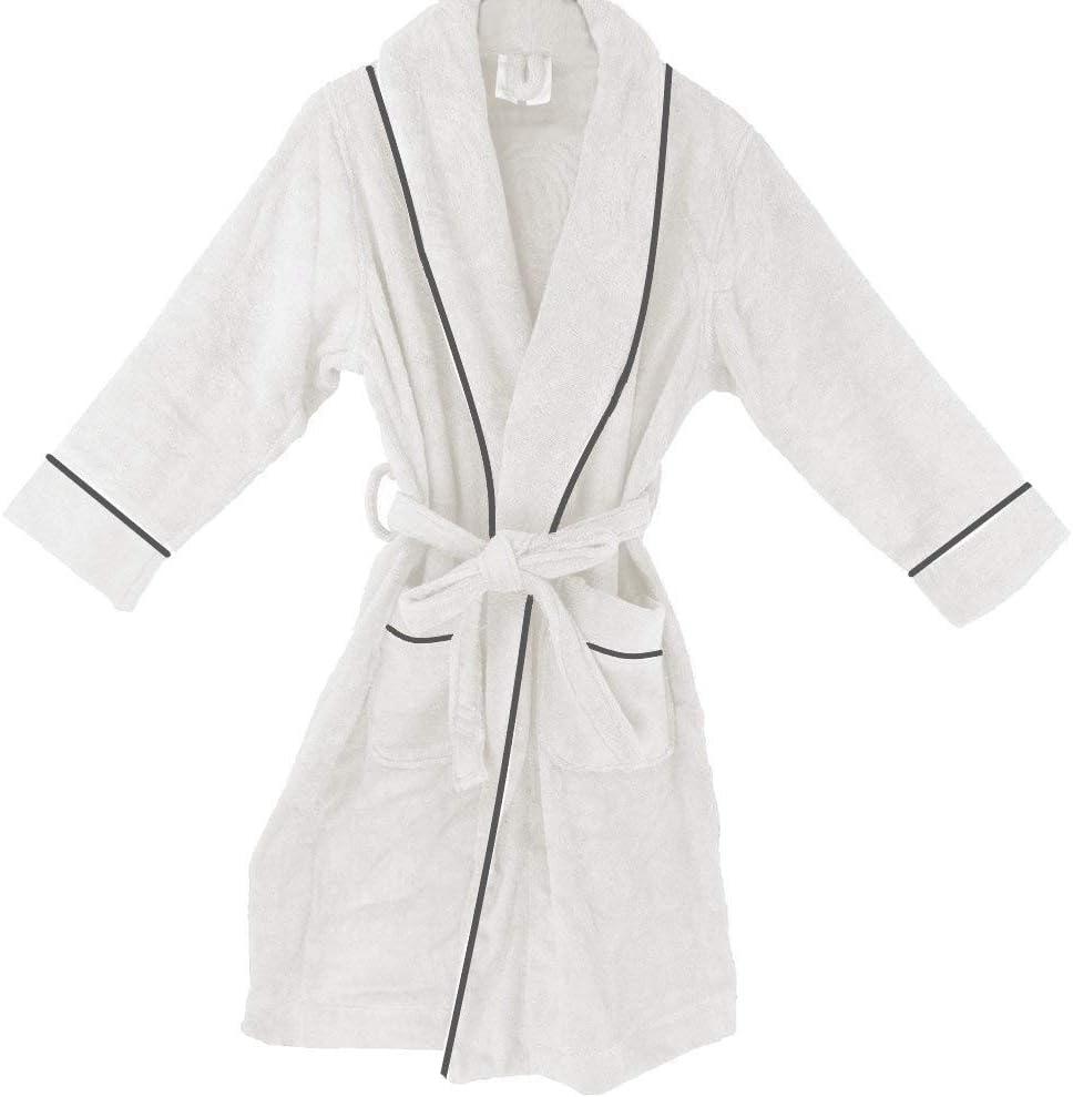 OrganicTextiles Womens Royal High quality new Spa Finally popular brand Terry Cloth Bathrobe Small Med