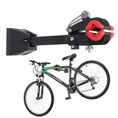 GXFXLP Bicicleta De Montaje En Pared, Portabicicletas Heavy Duty Abrazadera Plegable De...