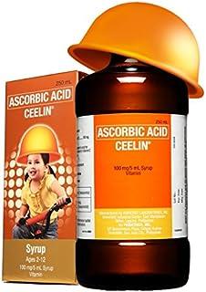 3 Bottles of Ceelin Ascorbic Acid Syrup 120ml