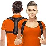 Haltungskorrektor für Männer und Frauen, obere Rückenbandage für Schlüsselbein-Unterstützung, verstellbare Rückenglätter und bietet Schmerzlinderung von Nacken, Rücken und Schulter, (universell)
