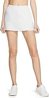 TSLA Women's Athletic Skorts Lightweight Active Tennis Skirts, Workout Running Golf Skirt with Pockets Built-in Shorts