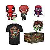 Funko Marvel Collector Corps Subscription Box, Marvel Zombies Theme, September 2020 - 2XL T-Shirt