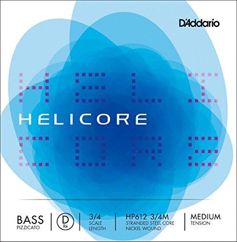 Daddario Orchestral Heli.Orqu H 610 3/4 Lgt - Juego de cuerdas de contrabajo