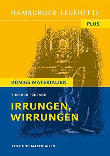 Irrungen, Wirrungen: Roman (Hamburger Lesehefte PLUS)