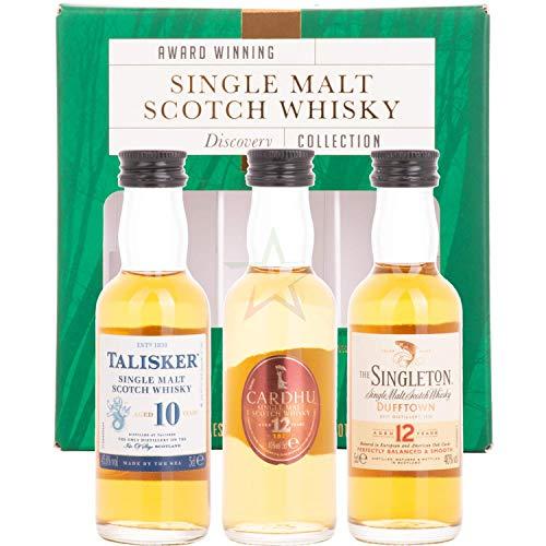 Classic MaltsMulti Explorer Pack (Cardhu 15y / Singleton 12y / Talisker 10y) Single Malt Whisky (1 x 0.5 l)