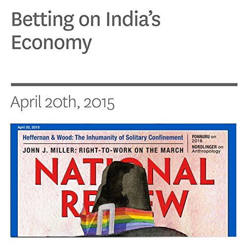 Betting on India's Economy audiobook cover art