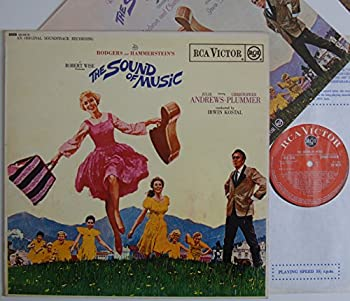JULIE ANDREWS / CHRISTOPHER PLUMMER The Sound of Music LP