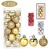 Aitsite Bolas de Navidad 4 cm Bolas de árbol de...
