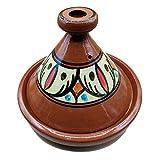 Ameublement Etnico Tajine 1801201001 Plat en terre cuite Marocino 35 cm