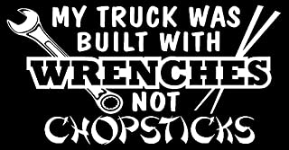 my truck is made with wrenches not chopsticks