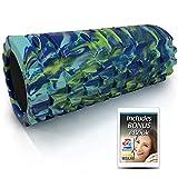 321 STRONG Foam Roller - Medium Density Deep Tissue Massager - Muscle Massage + Myofascial Trigger Point Release - Includes 4K eBook - Alien