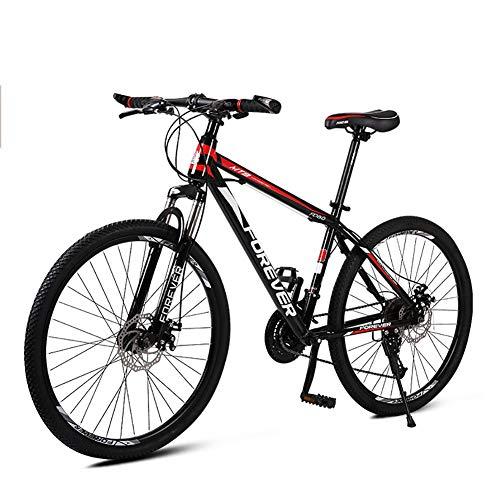 HECHEN Mountain Bike 26 Pollici Leggero 27 velocità Bicicletta Full Suspension MTB Freni a Doppio Disco Mountain, Biciclette Fuoristrada Pieghevoli in Acciaio ad Alto tenore di Carbonio