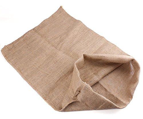Bekith Heavy-Duty Burlap Potato Sacks Race Bags 24x39, Set of 6