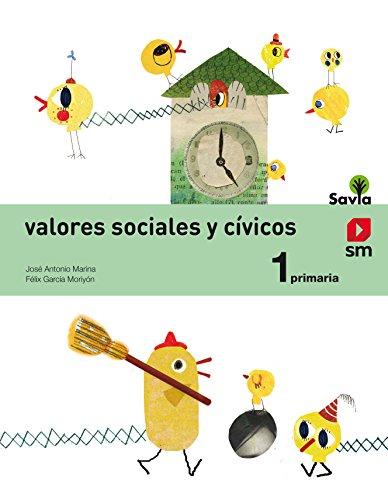 Valores sociales y cívicos. 1 Primaria. Savia - 9788467570649