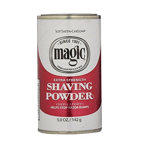 Magic Shaving Powder, Extra Strength - 5 oz (Pack of 3)