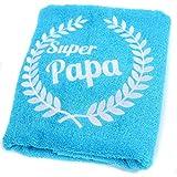 ABC–Casa cadeau d'anniversaire serviette avec couronne brodé et inscription...
