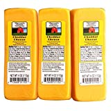Wisconsin Cheese Company (6-4oz.) 100% Wisconsin Cheddar Cheese Packages | Great with Crackers |AVAILABLE AGAIN 4-3-20